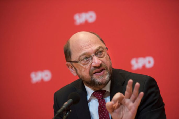 Martin Schulz Speaks To Foreign Journalists' Association